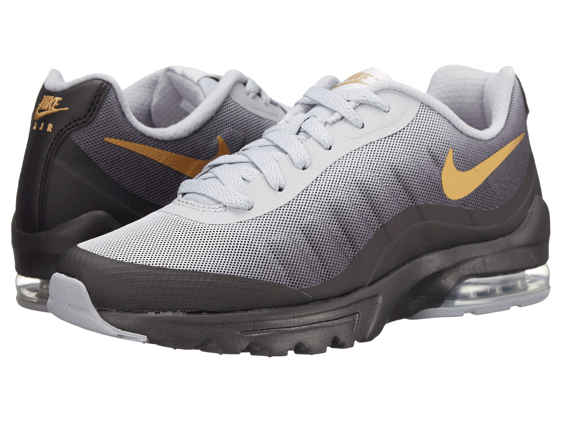 nike air max invigor print in gray for men lyst. Black Bedroom Furniture Sets. Home Design Ideas