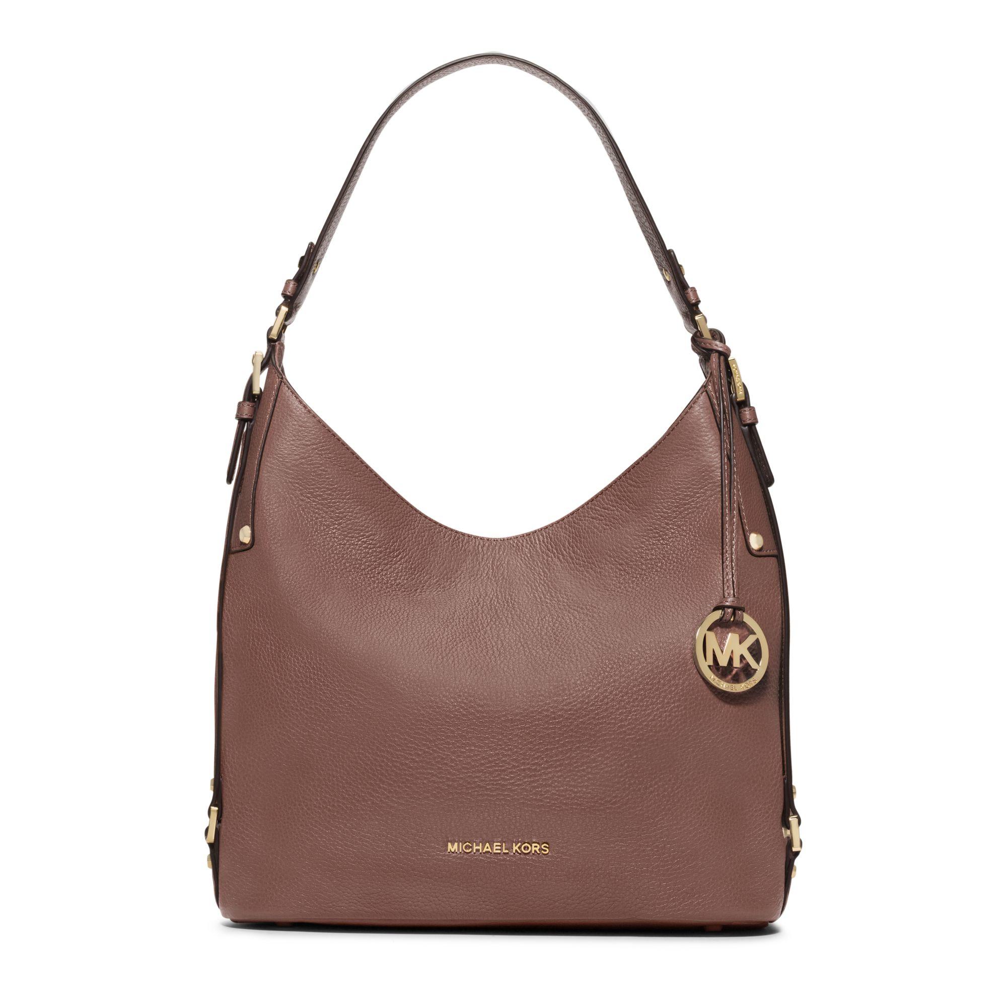 ffc61208b0f5 Michael Michael Kors Women's Bedford Large Leather Shoulder Bag Handbag