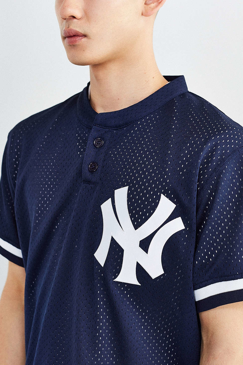 official photos 74b1b b0791 Mitchell & Ness White Yankees Don Mattingly Baseball Tee for men