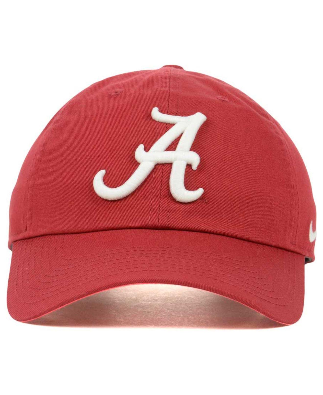 nike air jordan pour fille - Nike Alabama Crimson Tide Dri-fit Tailback Cap in Red for Men ...