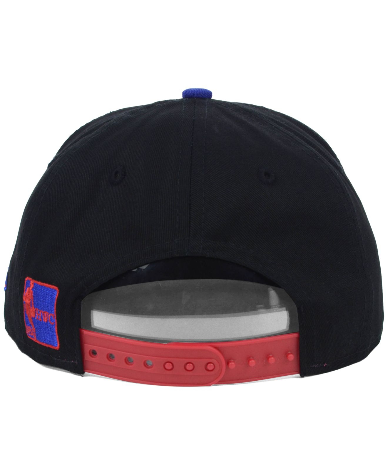 new product ea186 bcded KTZ Kids  Detroit Pistons Hardwood Classics 9fifty Snapback Cap in ...