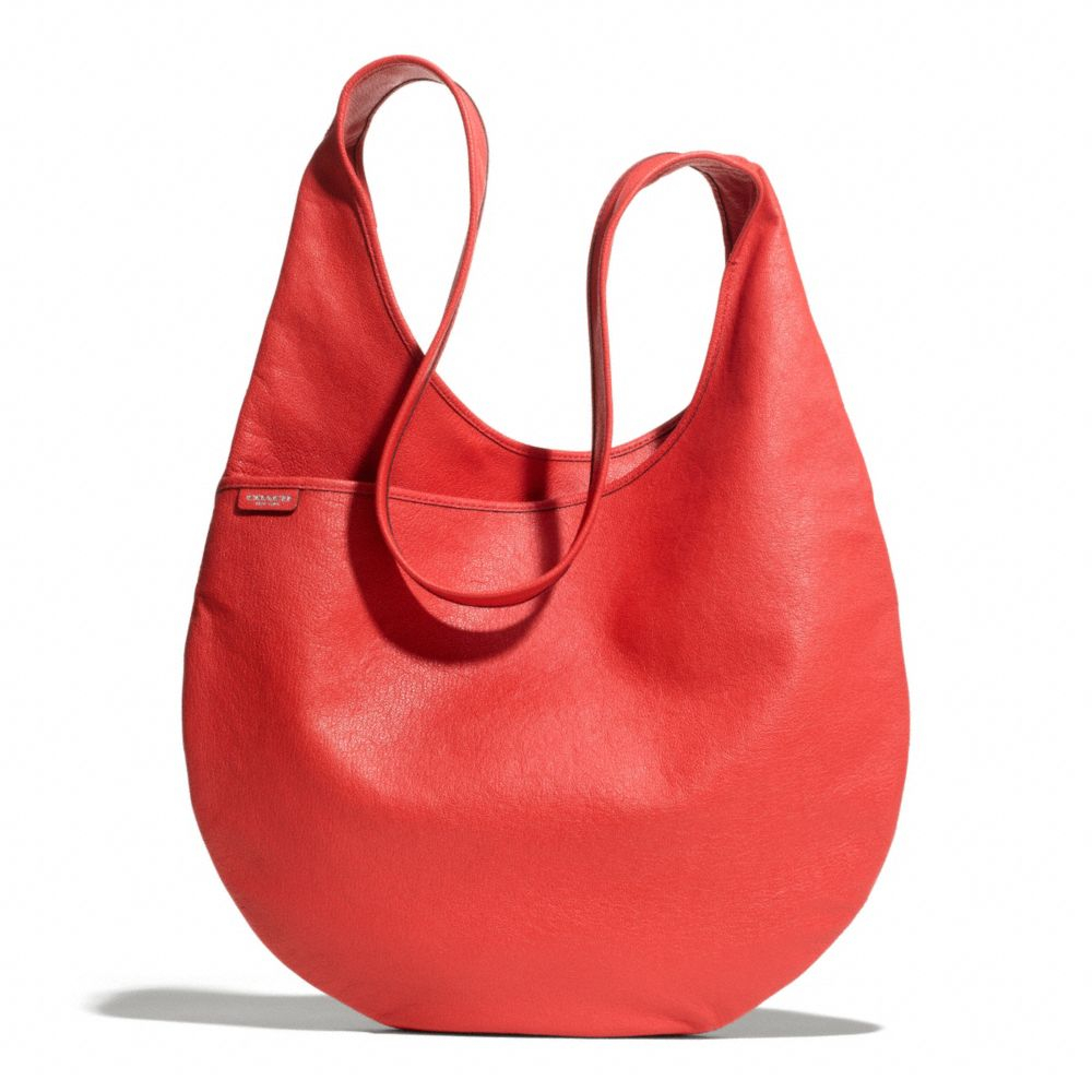 Coach Bleecker Sling Bag in Leather in Red   Lyst