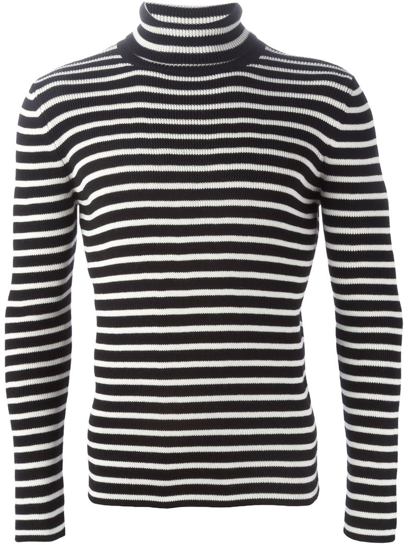 Cotton V Neck Sweater Men
