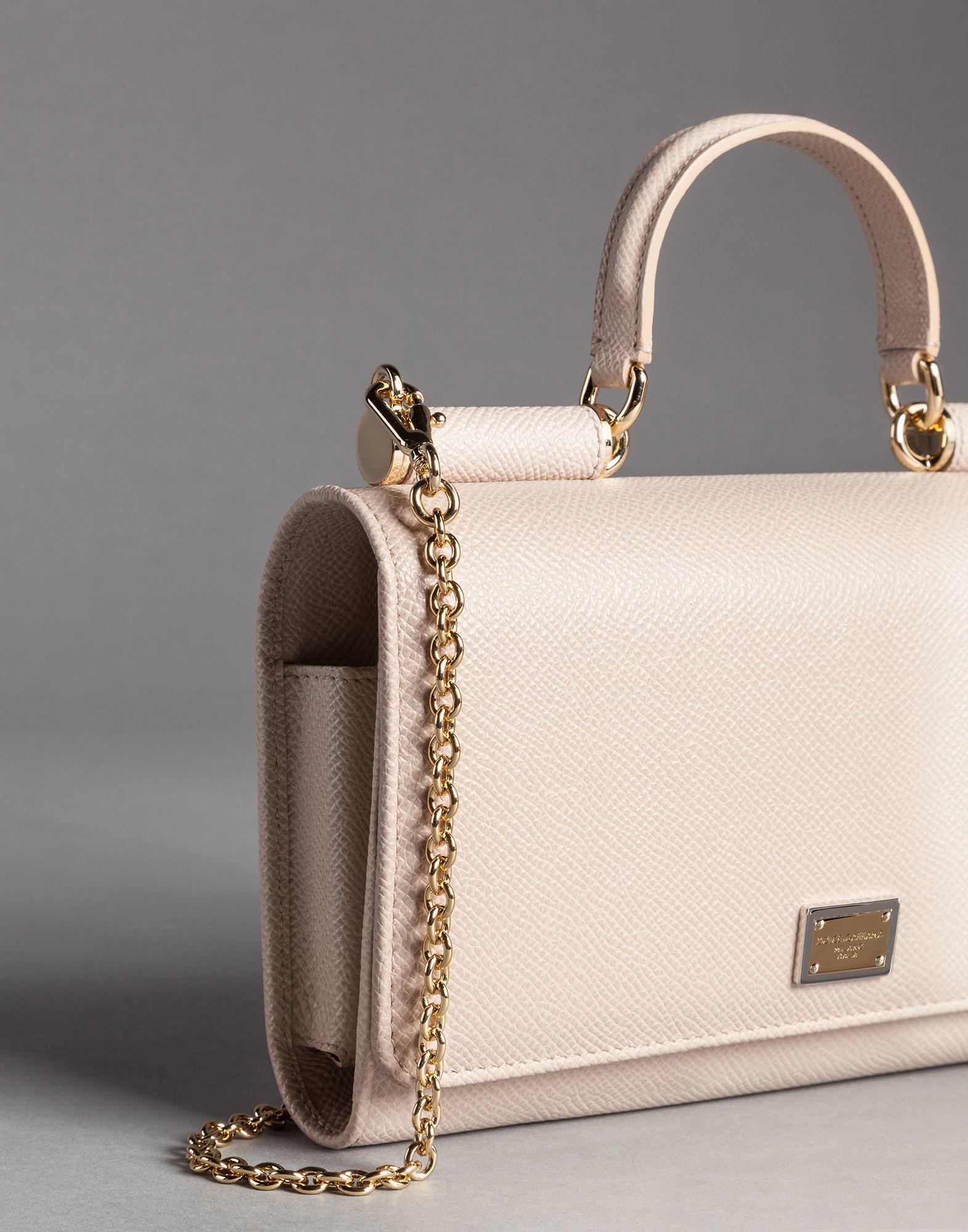 02b9721f638 Dolce   Gabbana Dauphine Print Calfskin Mini Von Bag With Lipstick ...
