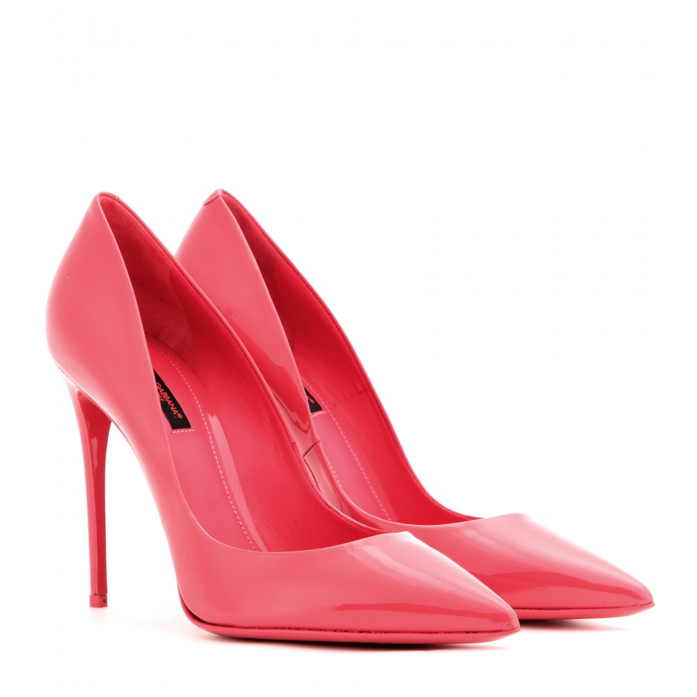 dolce and gabbana pink heels