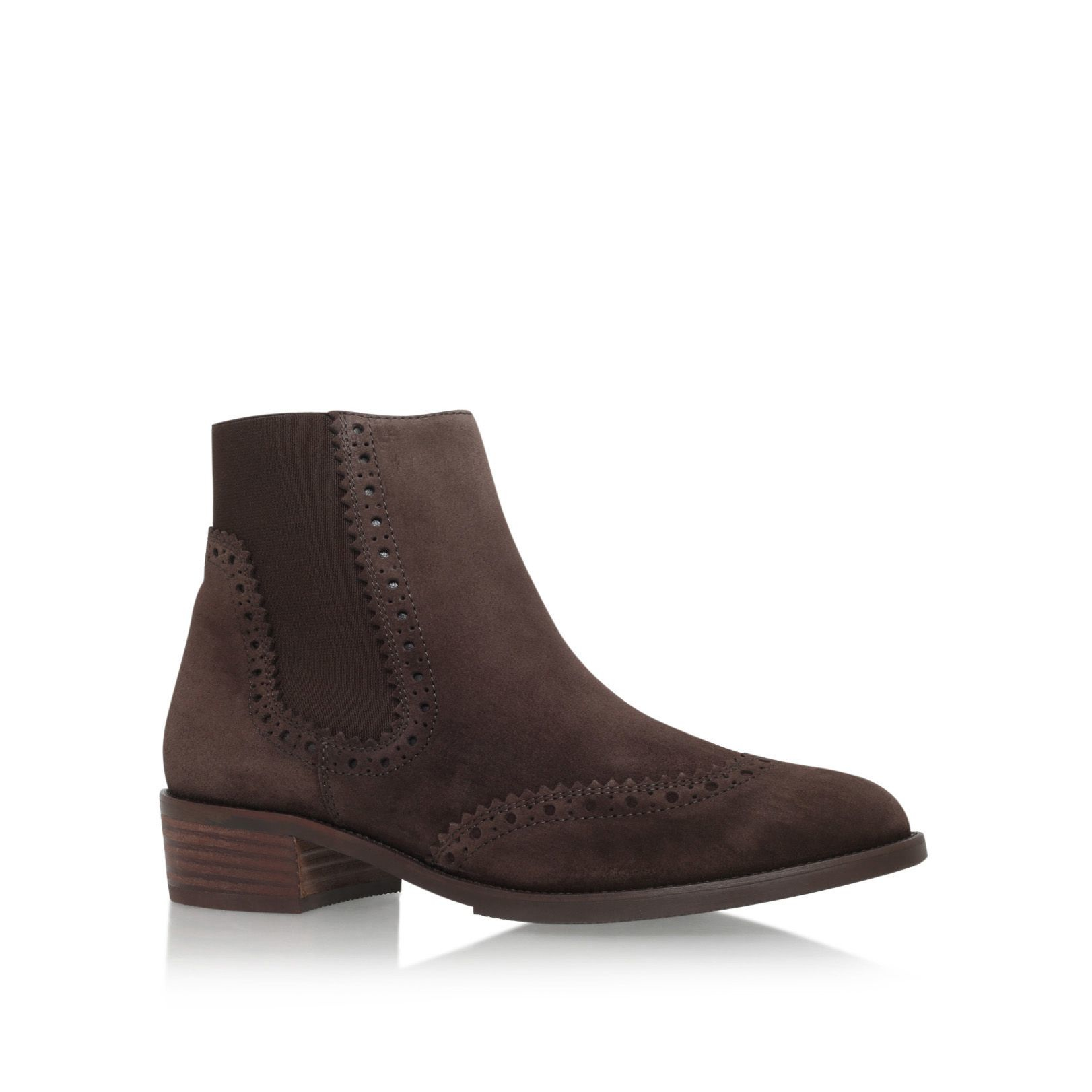 paul green may low heel ankle boots in brown lyst. Black Bedroom Furniture Sets. Home Design Ideas
