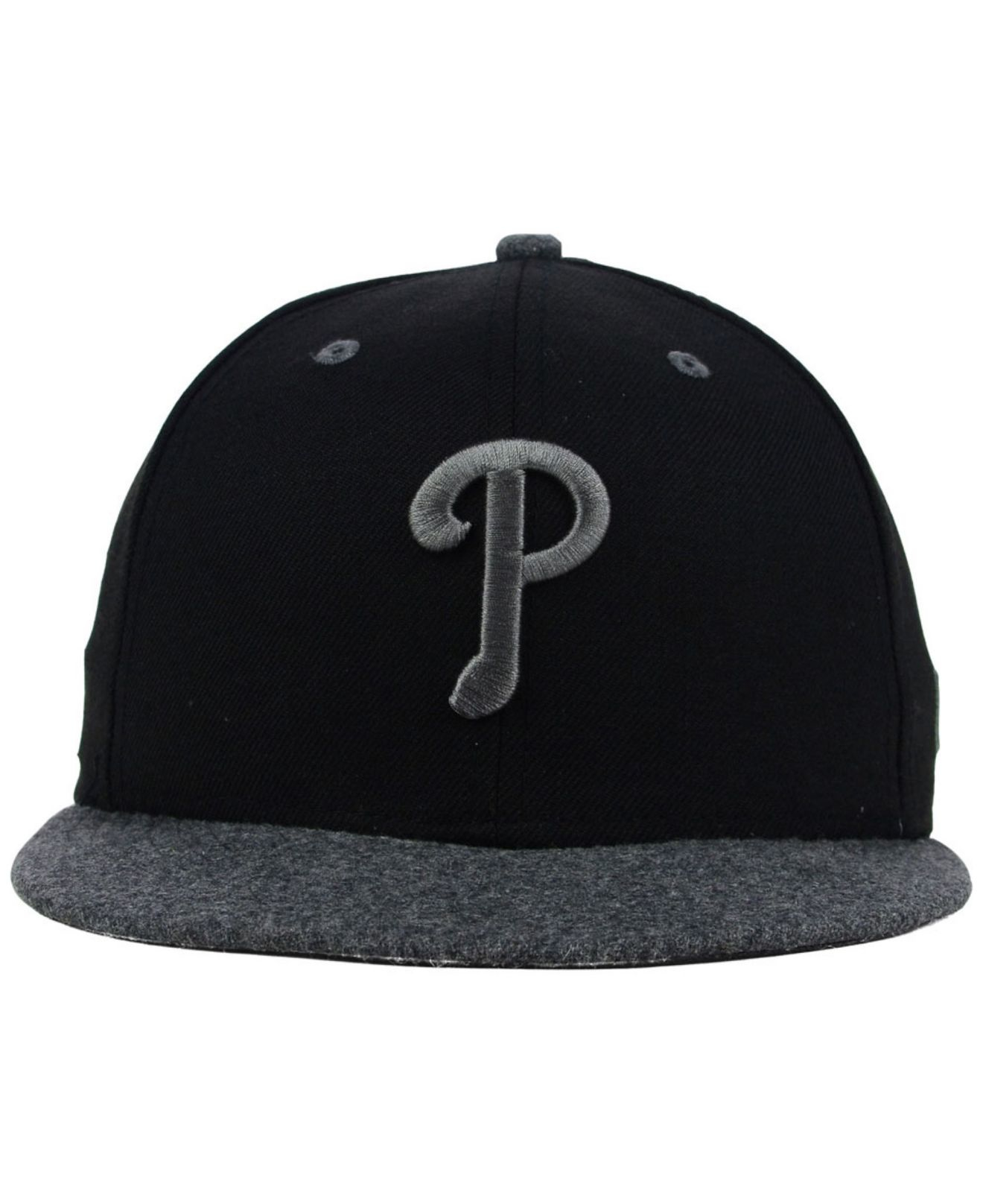 ... sale lyst ktz philadelphia phillies g wooly 59fifty cap in black for men  4849f 1948a 8fbeb1c46eb1