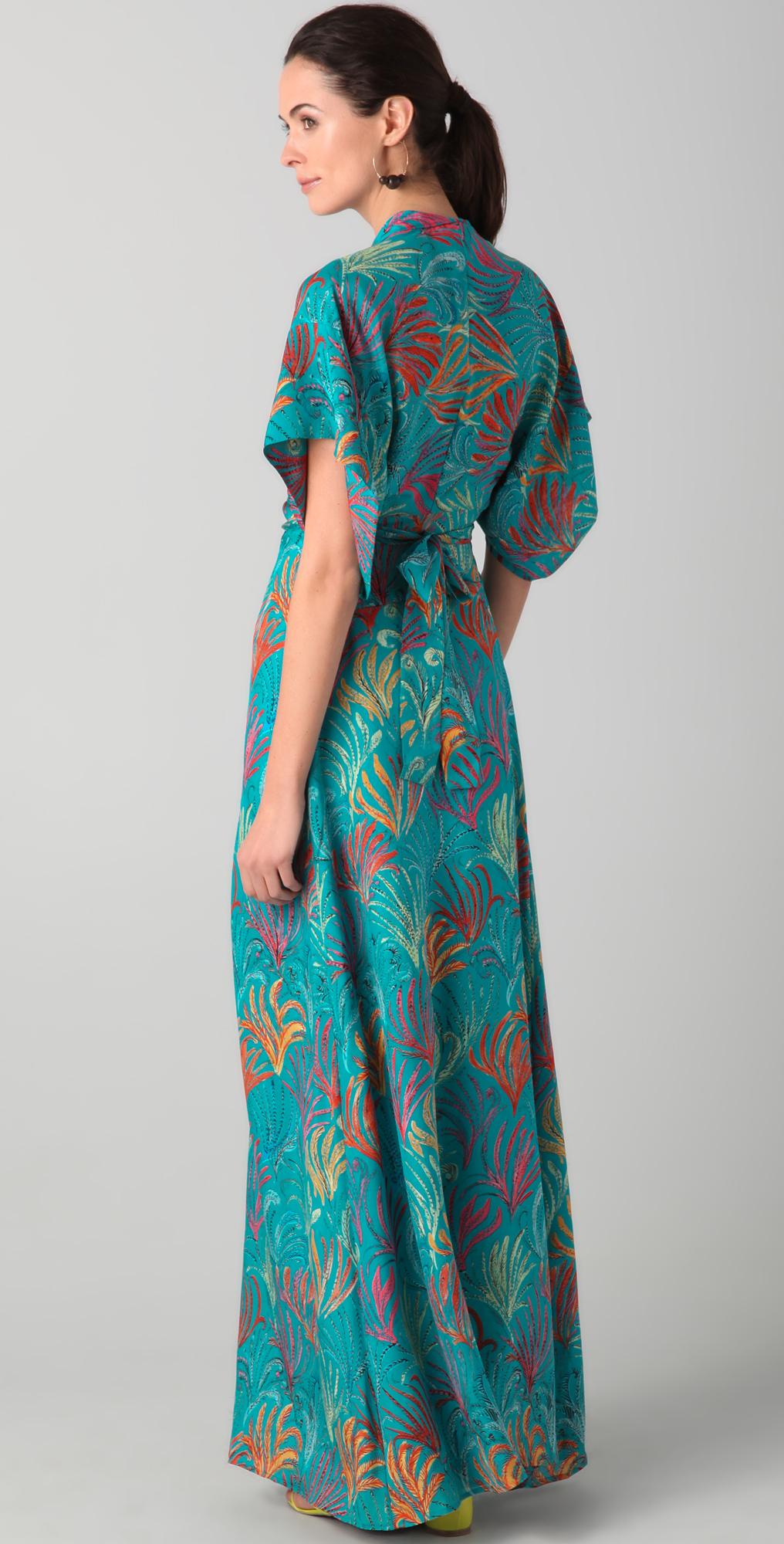 Maxi Dress Kimono