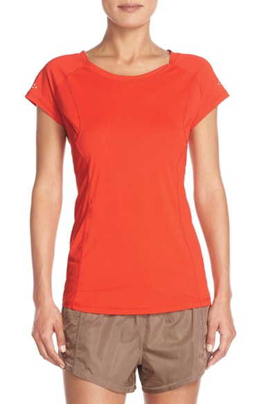 Zella 'radiant' Jersey Tee in Red