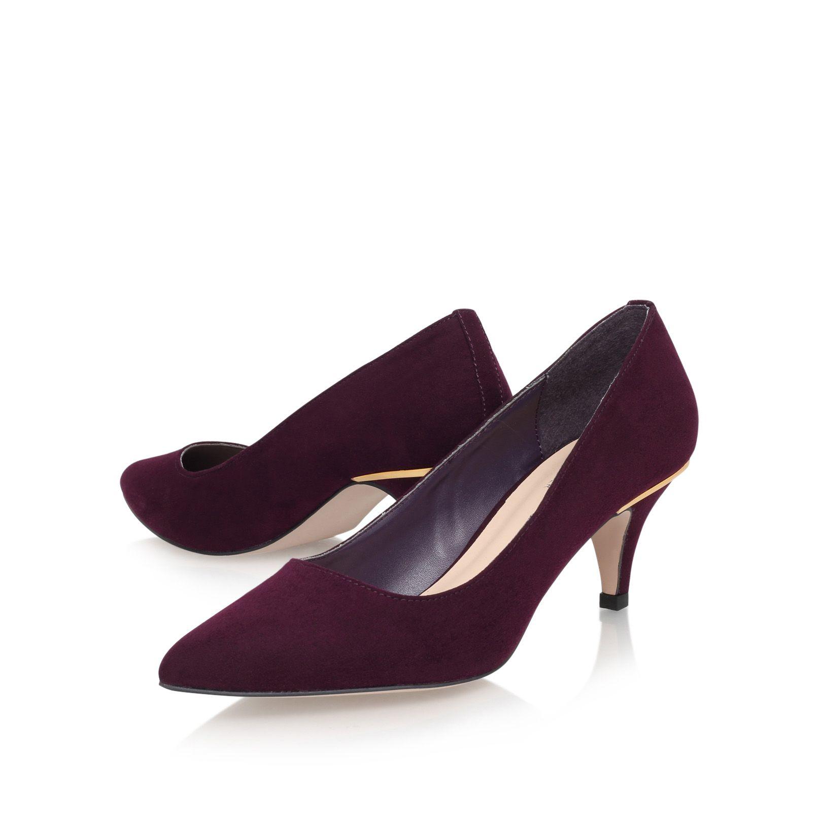 Aldo Red Court Shoes