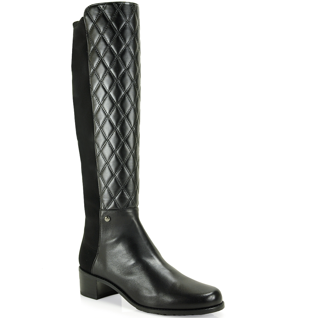 Stuart Weitzman Quilted Leather Boots deals for sale rPSB3