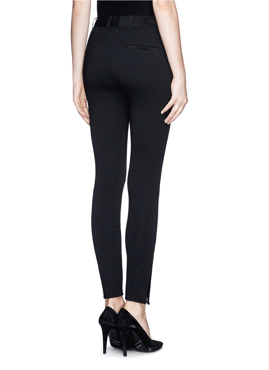 Cool Phillip Lim 39jodhpur39 Cropped Tailored Pants In Black  Lyst
