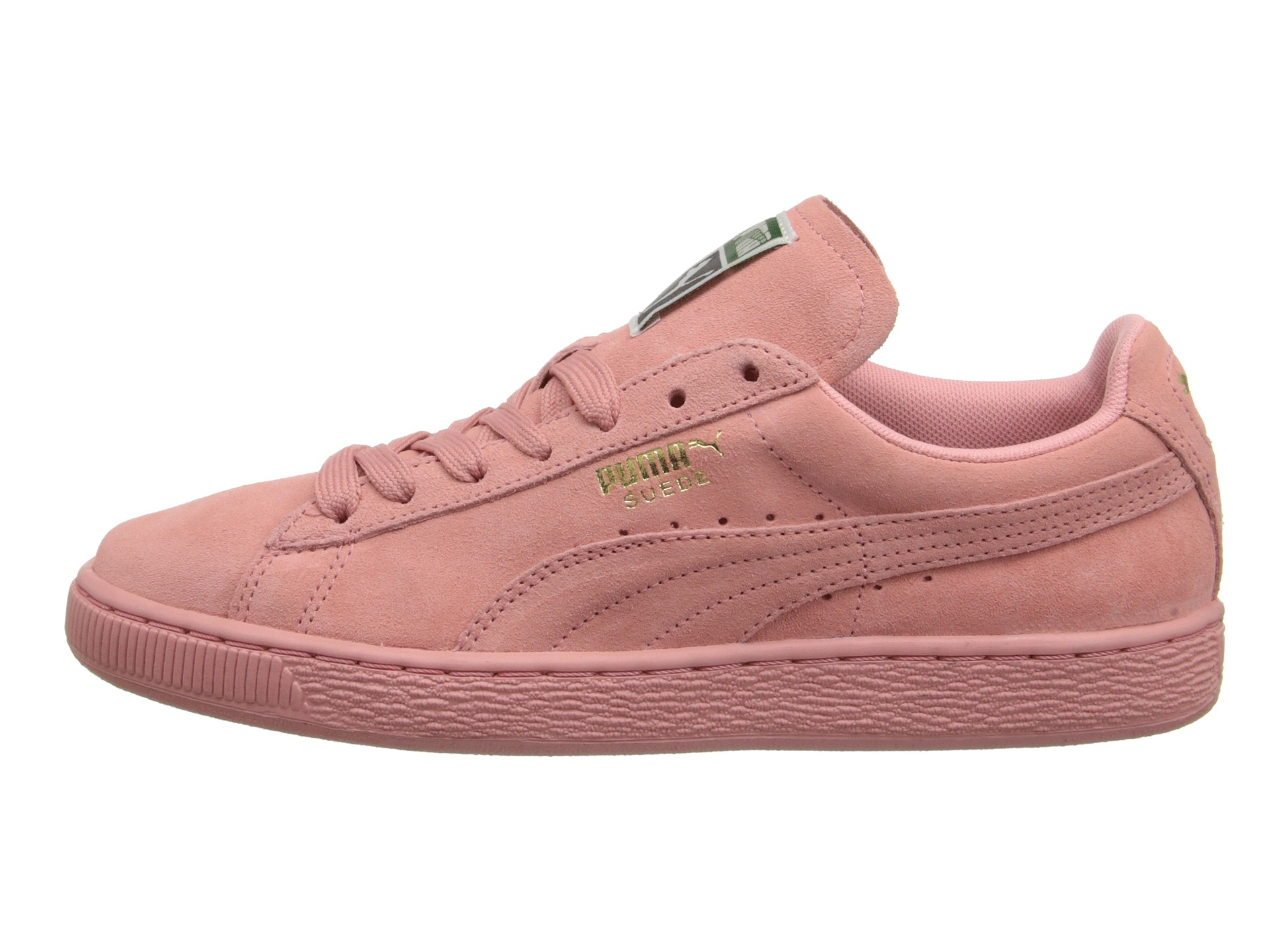 Women's Pink Suede Classic Wns