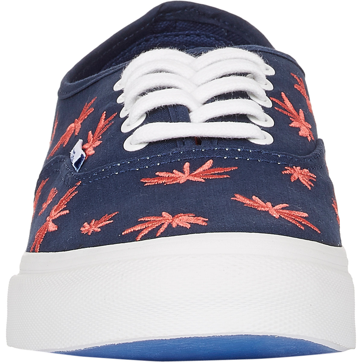 2bc3df980e1 Lyst - Vans Palm Tree Authentic Lx Sneakers in Blue for Men