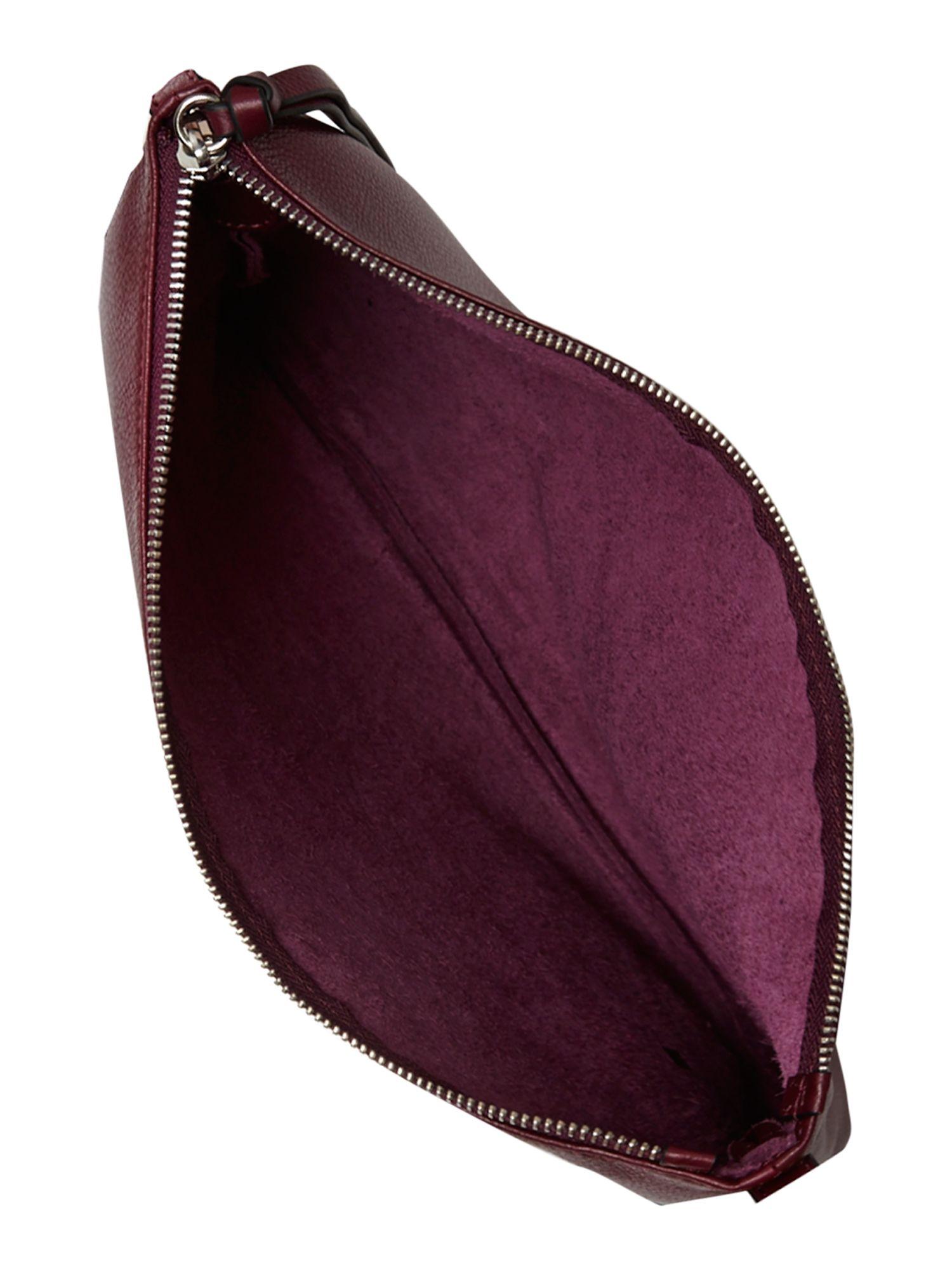 Coccinelle Purple Cross Body Bag