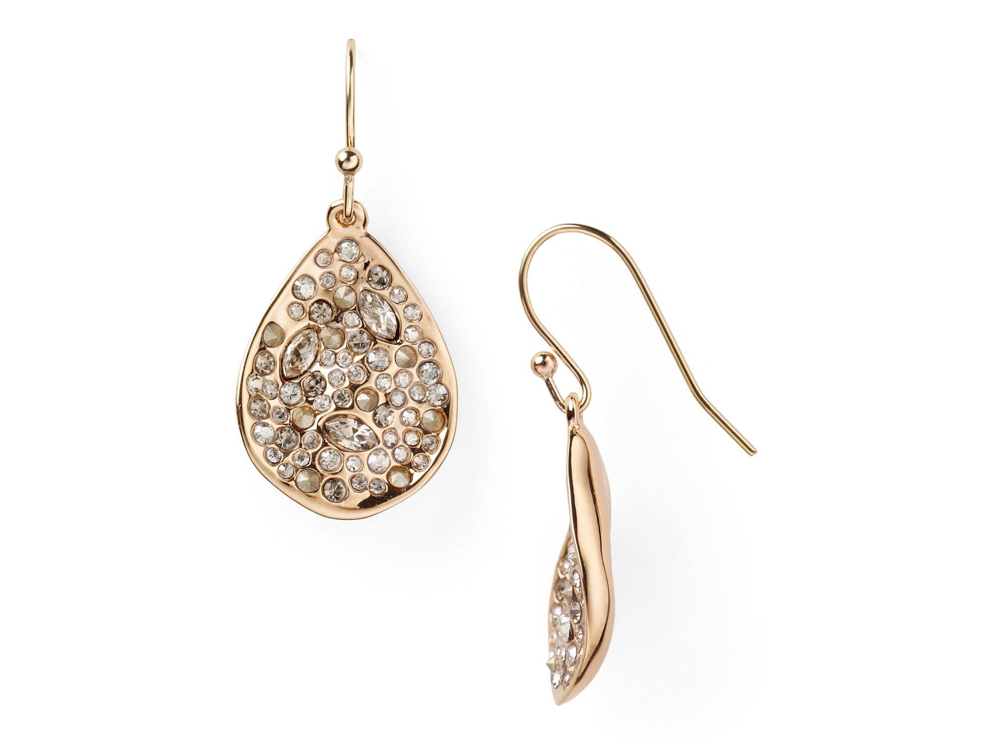 Alexis Bittar Crystal Encrusted Spiral Earring 5Y50Vv