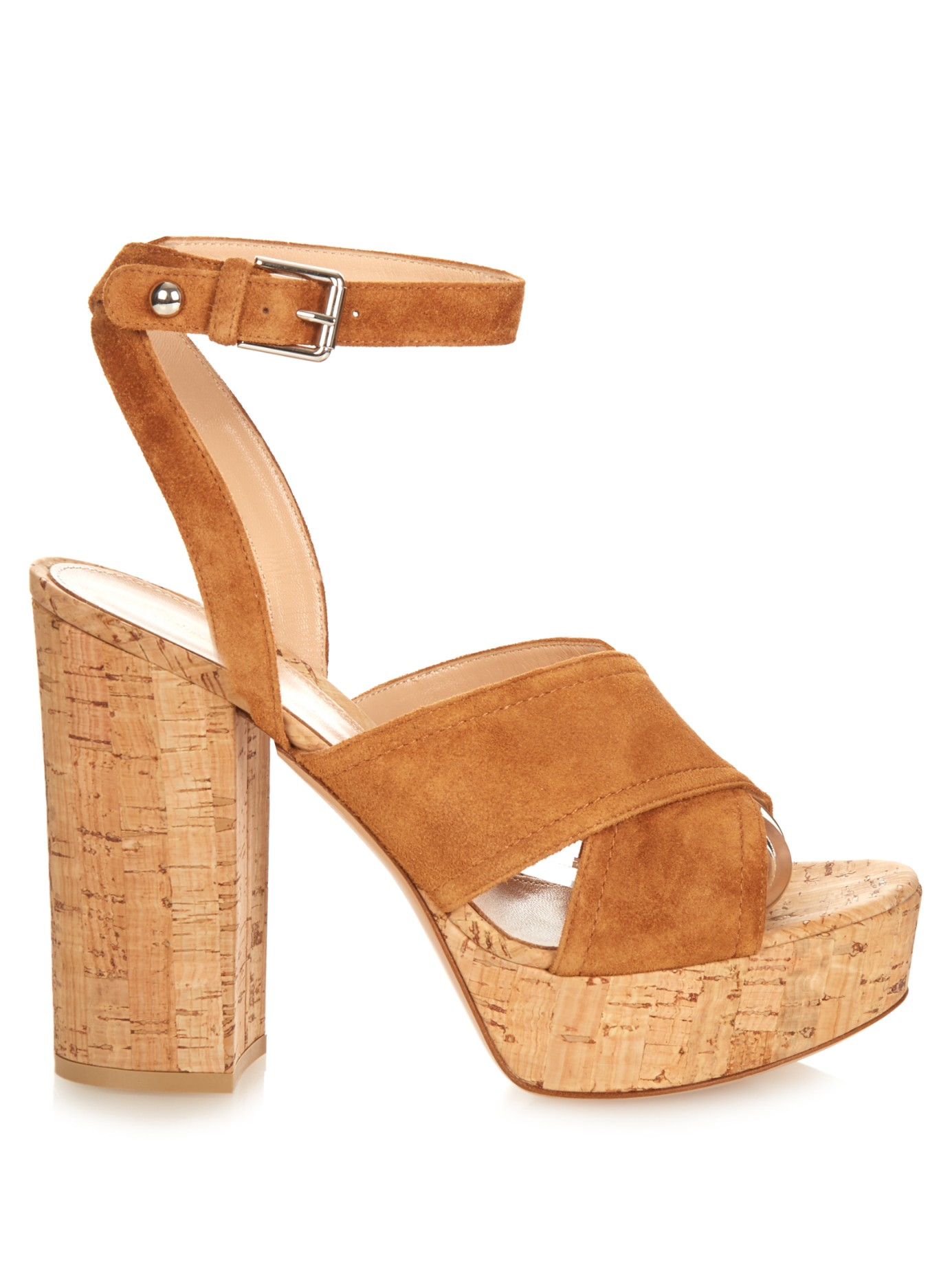 Discount Buy Gianvito Rossi Mytheresa.com exclusive Suzie suede platform sandals Discounts For Sale Latest Collections Online mPDU1JCbN