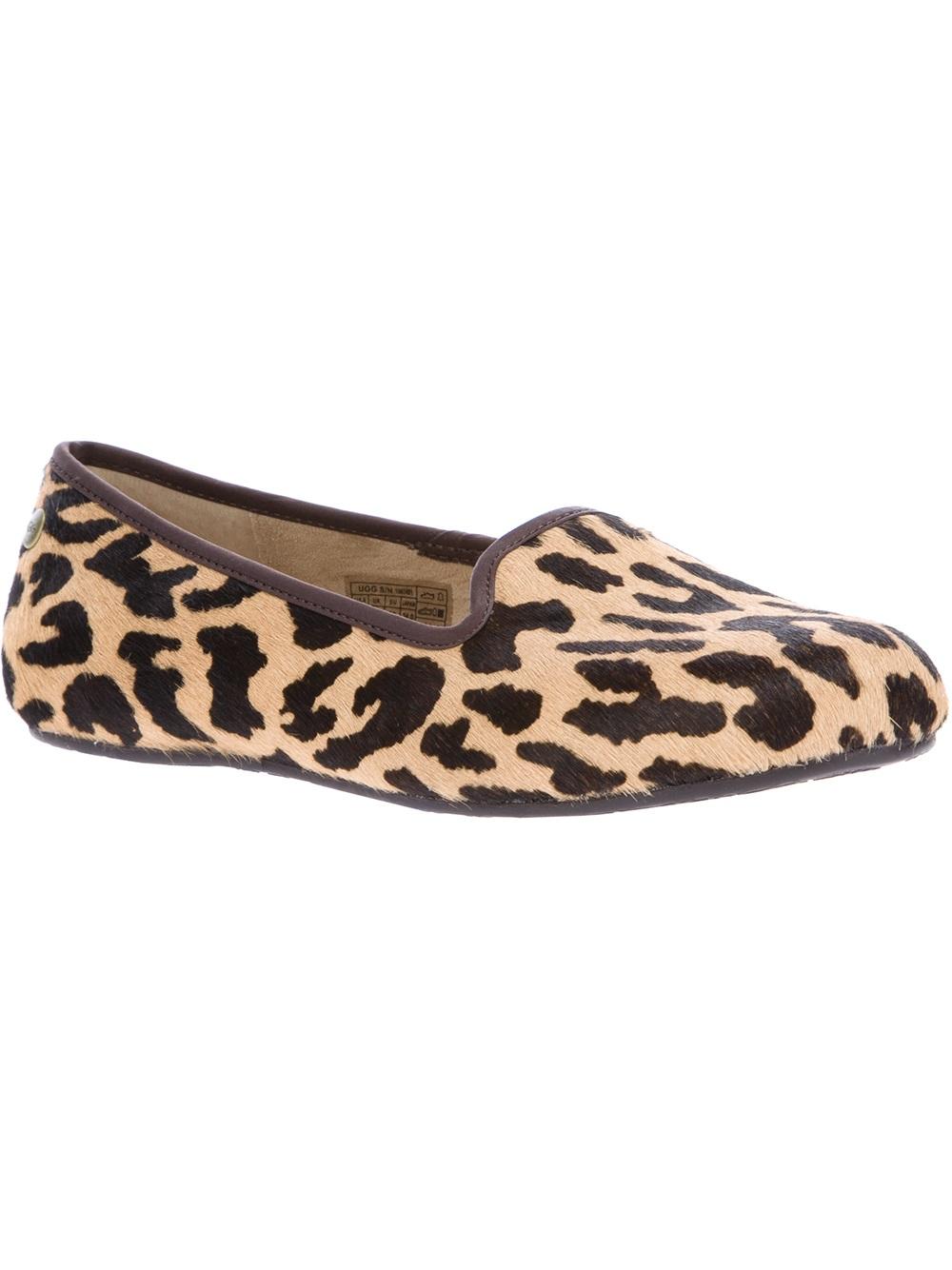 ugg animal print slippers