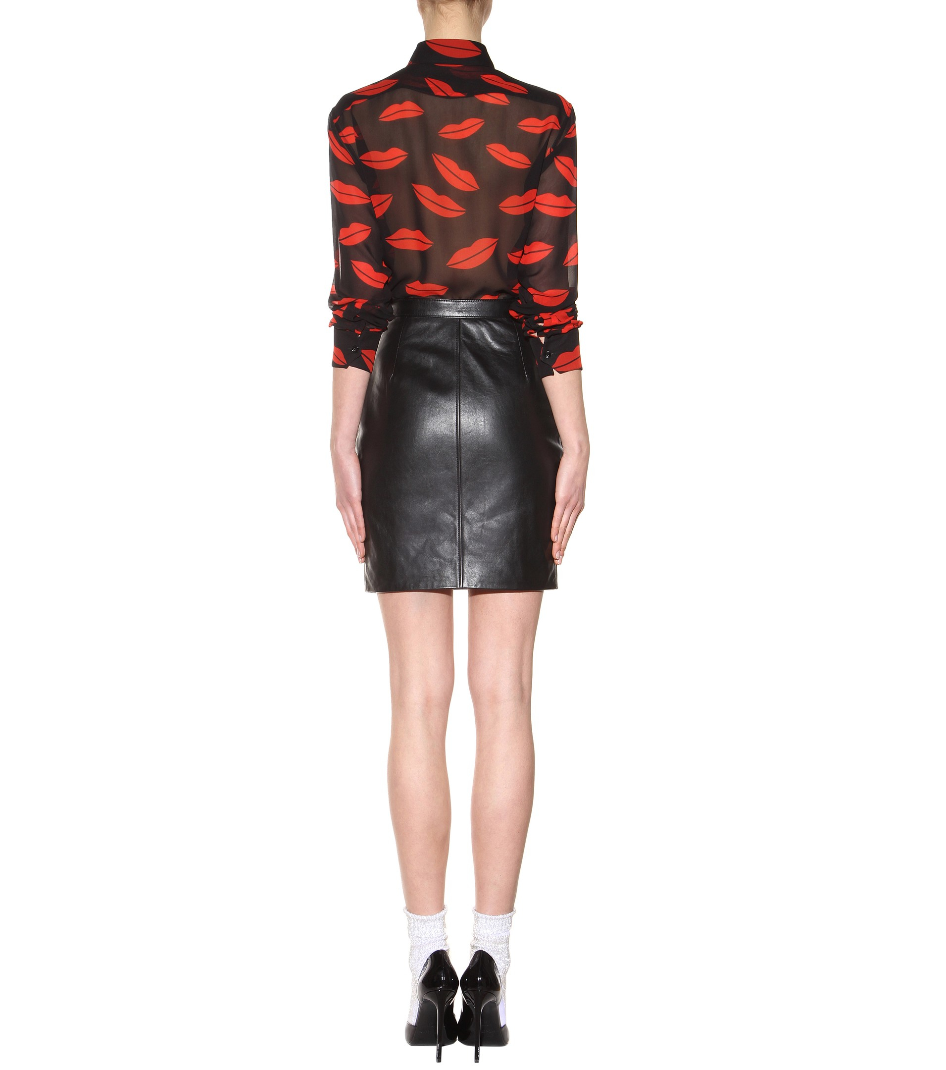01384d1217 Gallery. Previously sold at: Mytheresa · Women's Black Leather Skirts