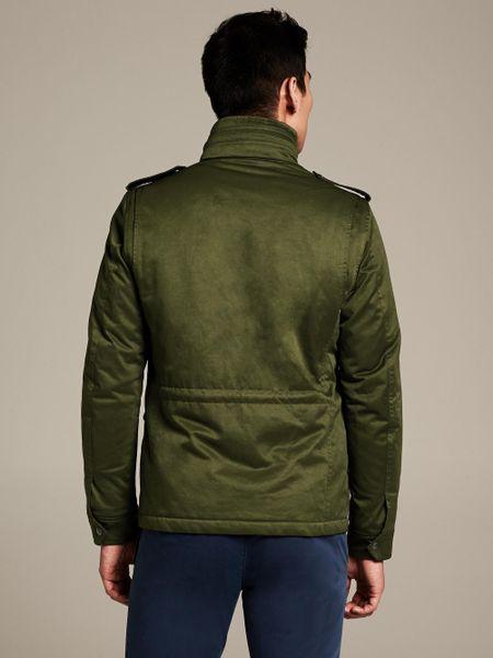 Banana Republic Four Pocket Military Jacket Bright Moss In