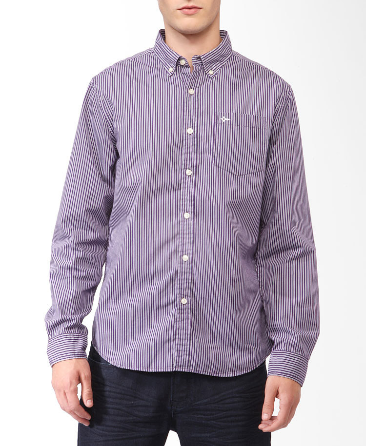 Striped button down shirt greek t shirts for Red and white striped button down shirt