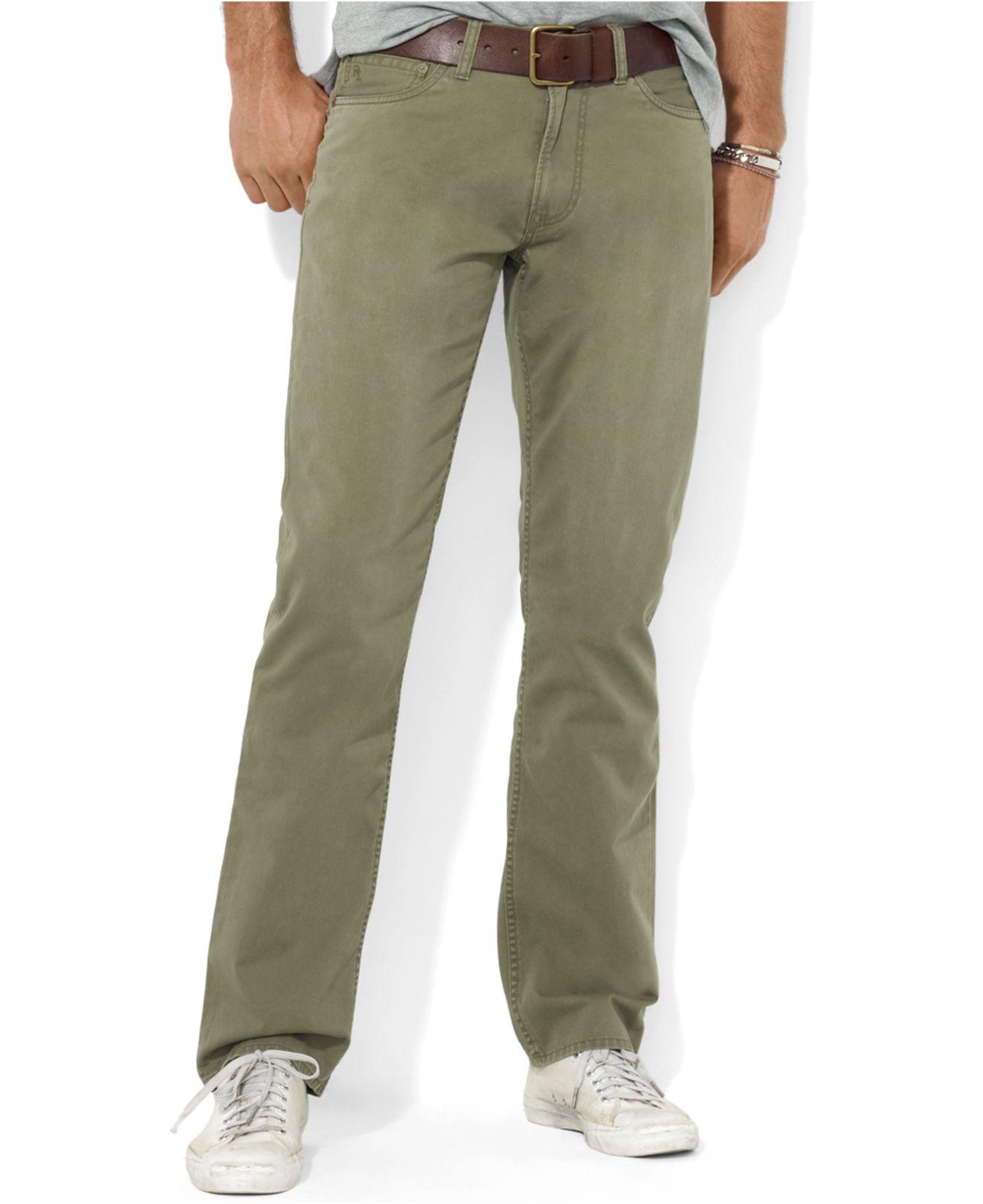 Polo Ralph Lauren Men/'s Core Straight Fit 5 Pocket Chino Pants