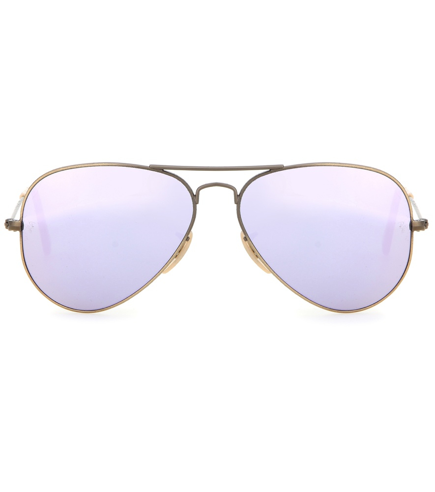 Ray ban mirrored aviators for Ray ban aviator miroir homme