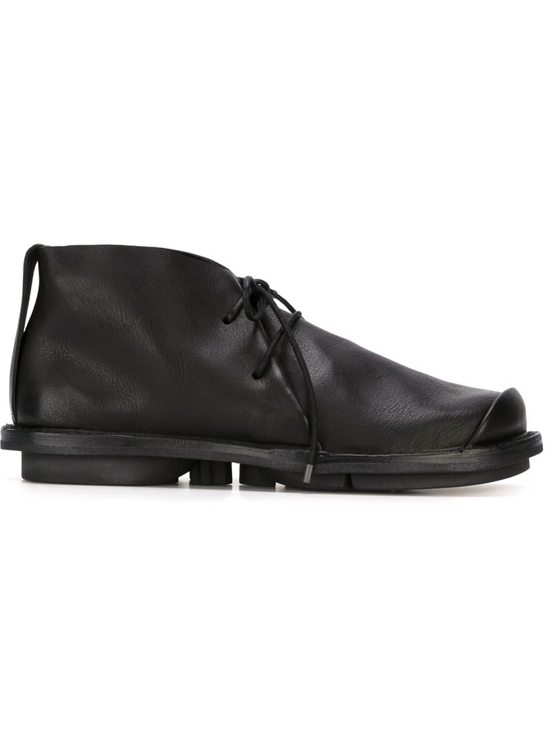 Trippen Lace Up Chukka Boots In Black For Men Lyst
