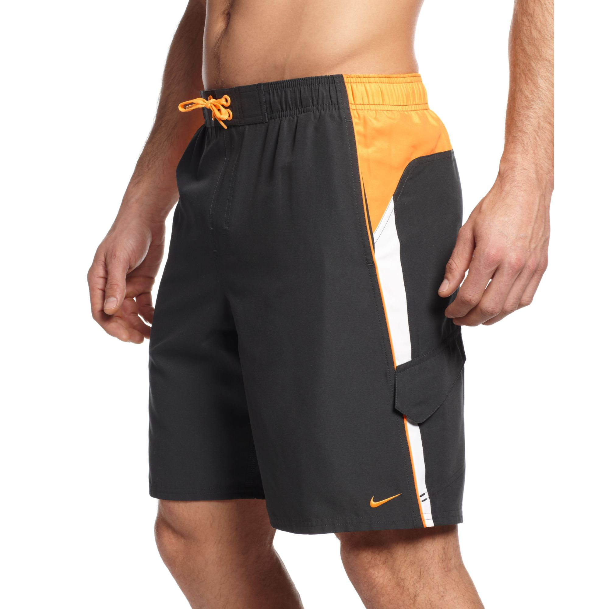 Lyst - Nike Core Colorblocked 9 Volley Boardshorts in ...