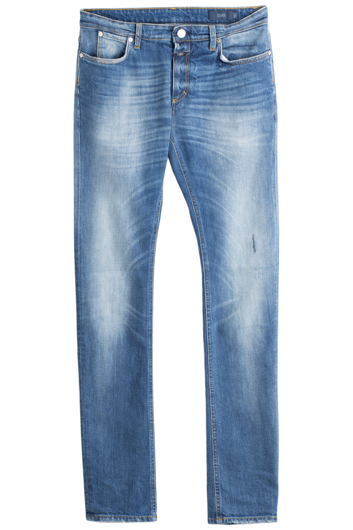 closed straight classic jeans in blue for men lyst. Black Bedroom Furniture Sets. Home Design Ideas
