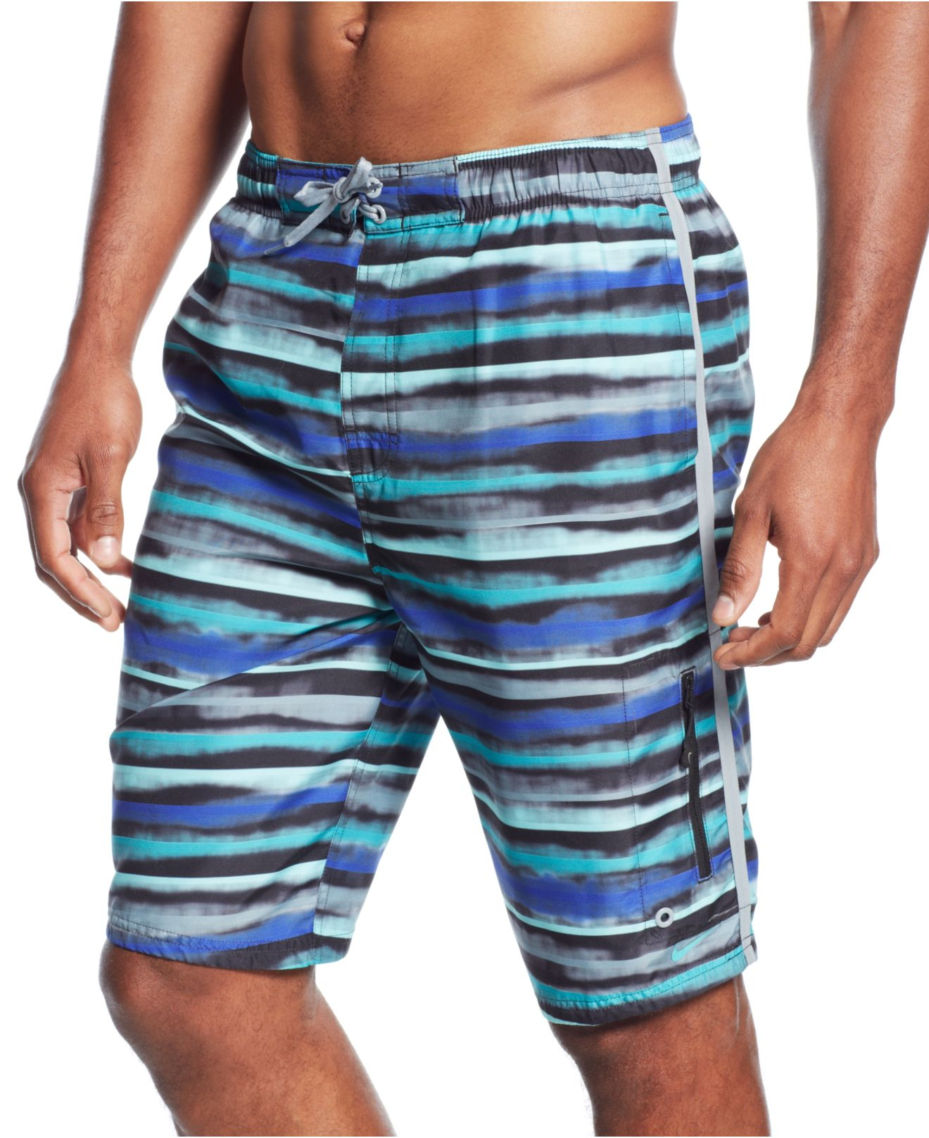 "Nike Amped Armor 11"" E-board Shorts in Blue for Men ..."