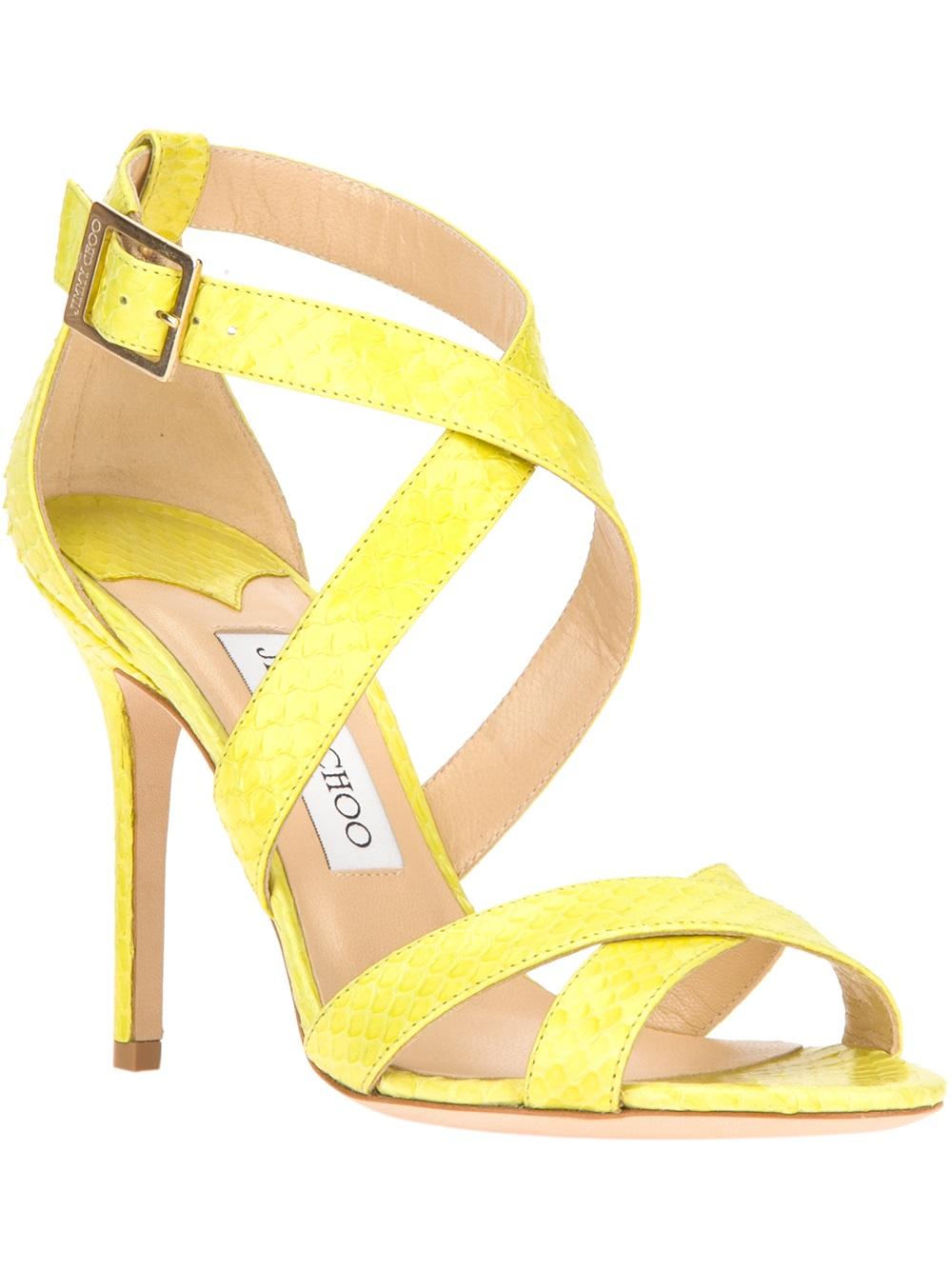 Jimmy Choo Lottie Sandal in Yellow
