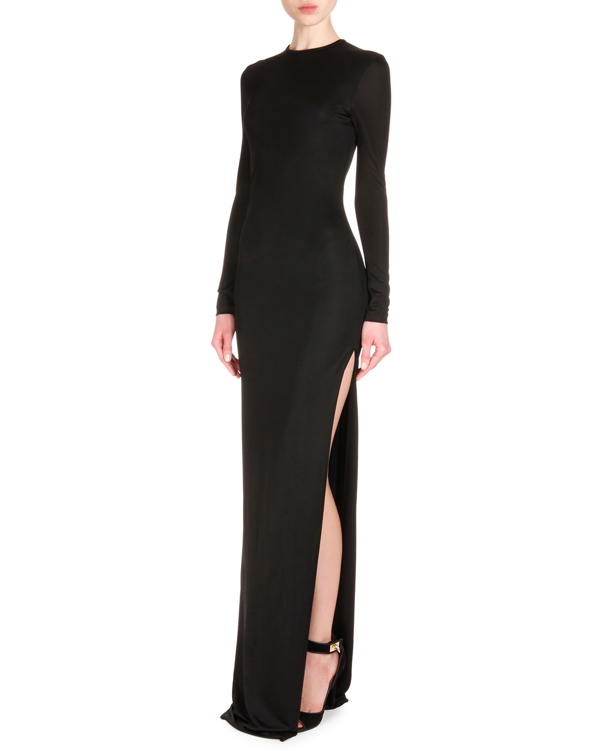 structured long-sleeve mini dress Givenchy Outlet Websites For Sale Online Store CtX1vo
