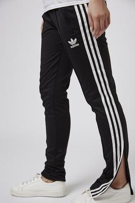 c1ef199337df Lyst - TOPSHOP Slim Trackpants By Adidas Originals in Black