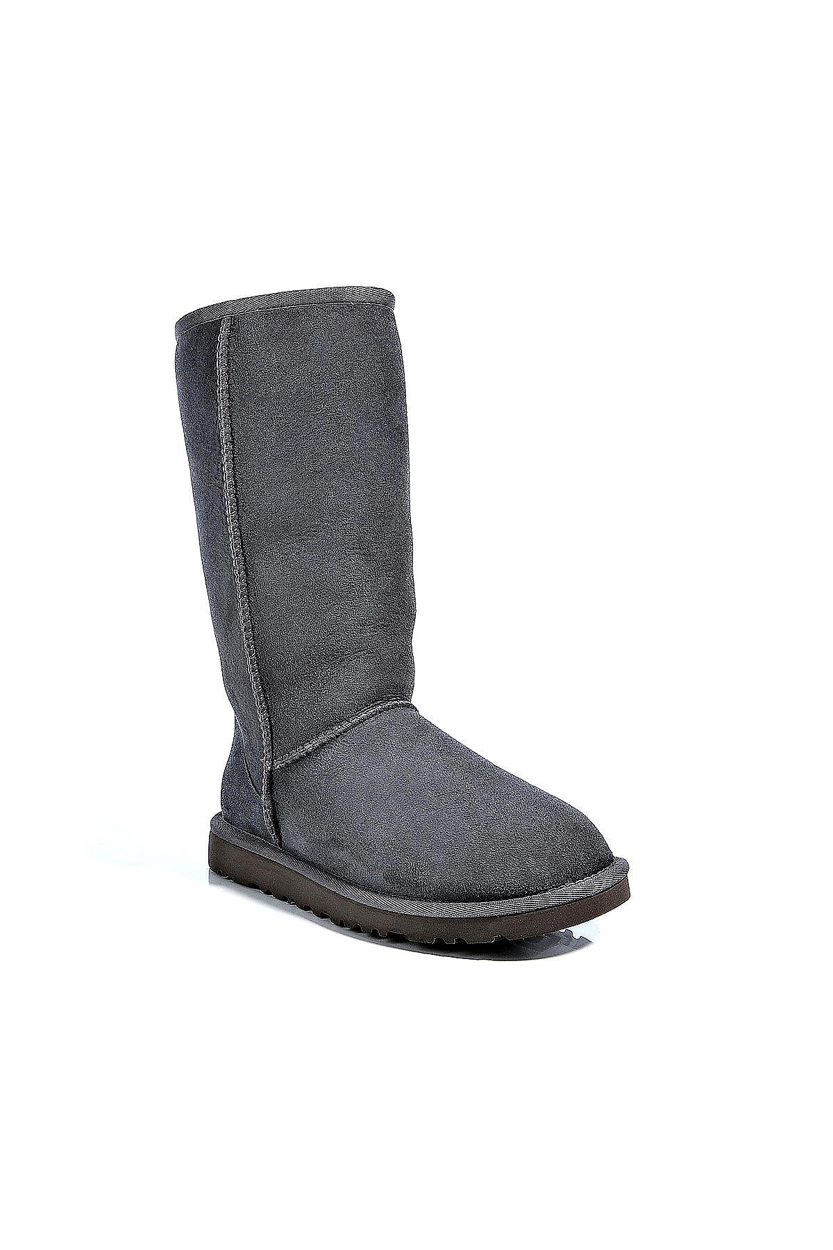 ugg grey tall boots