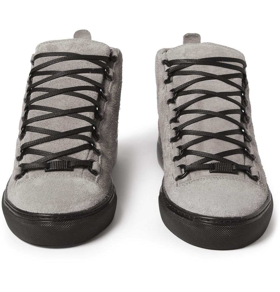 Balenciaga Arena Sneakers-Grey Size 15 Medium in Gray for Men | Lyst