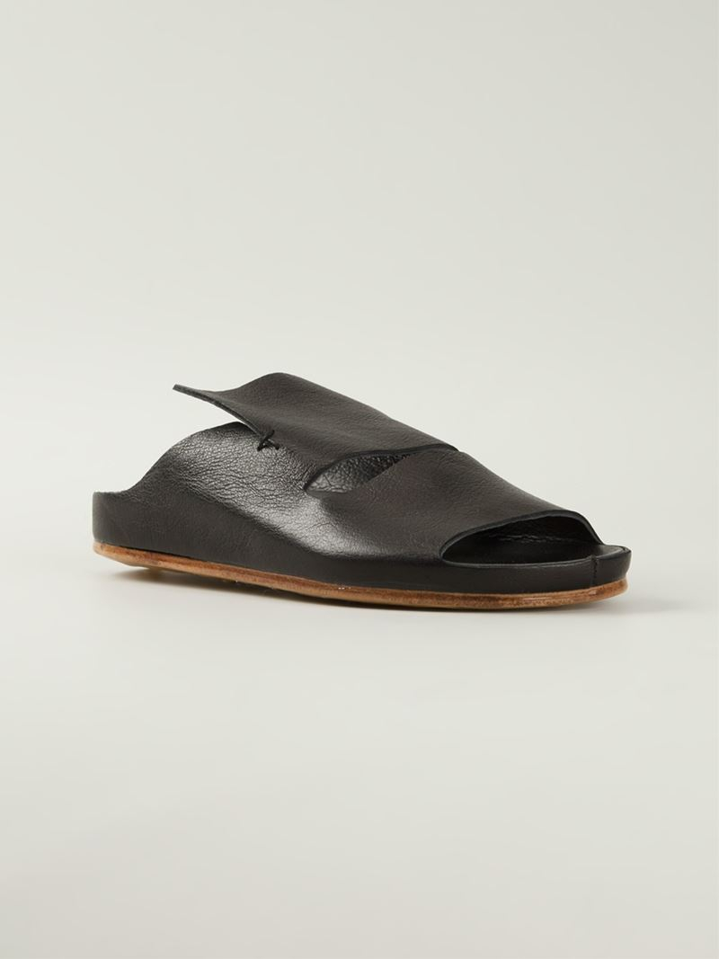 7df2df1ce7 Officine Creative Black Slide Sandals