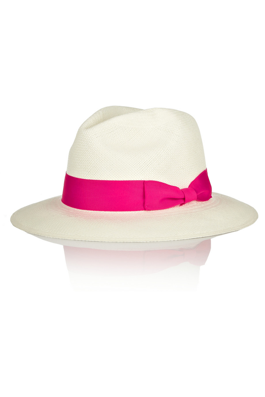 Classic Toquilla Straw Panama Hat - White Sensi Studio FKFyn