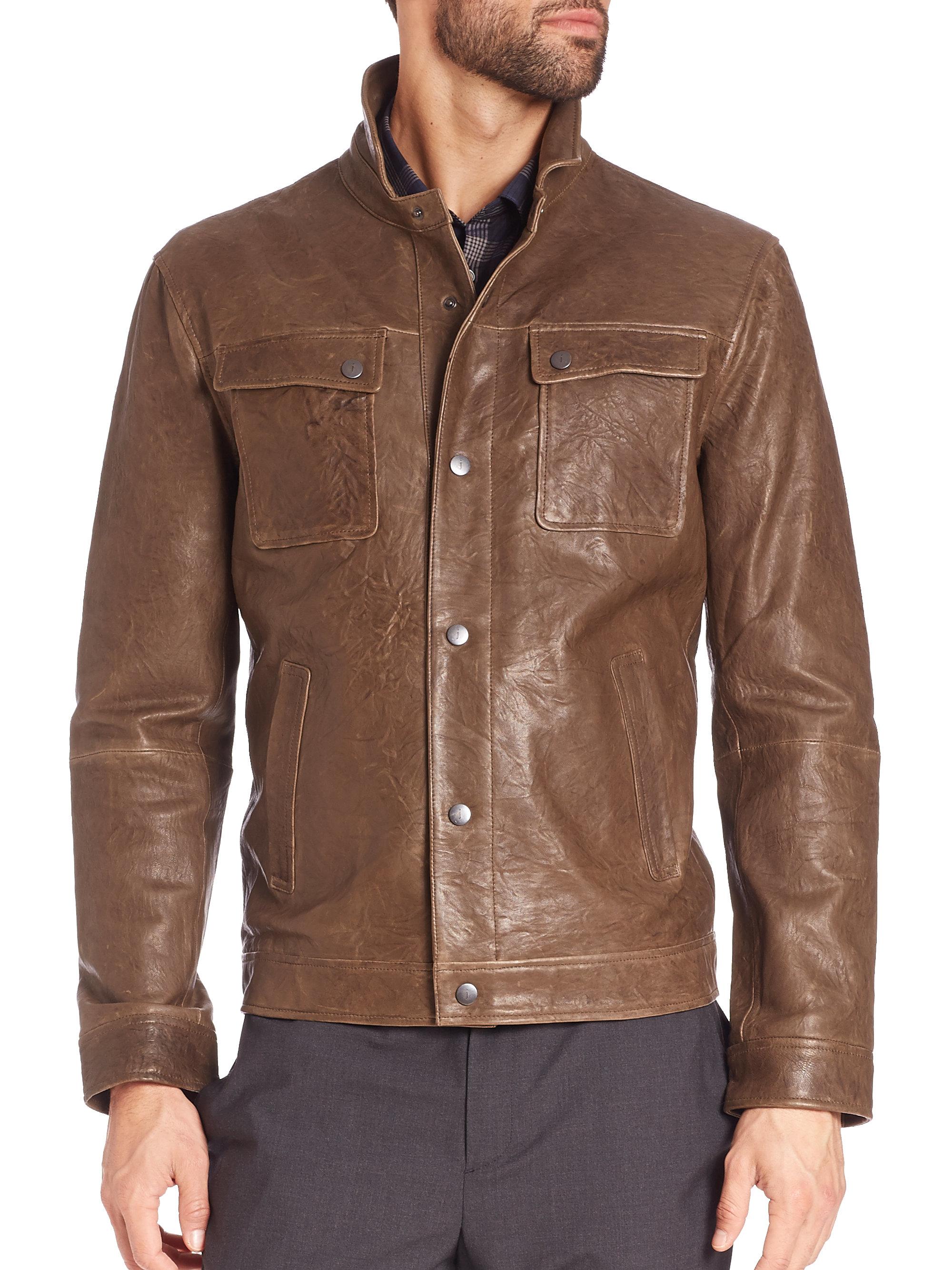 Buy john varvatos leather jacket