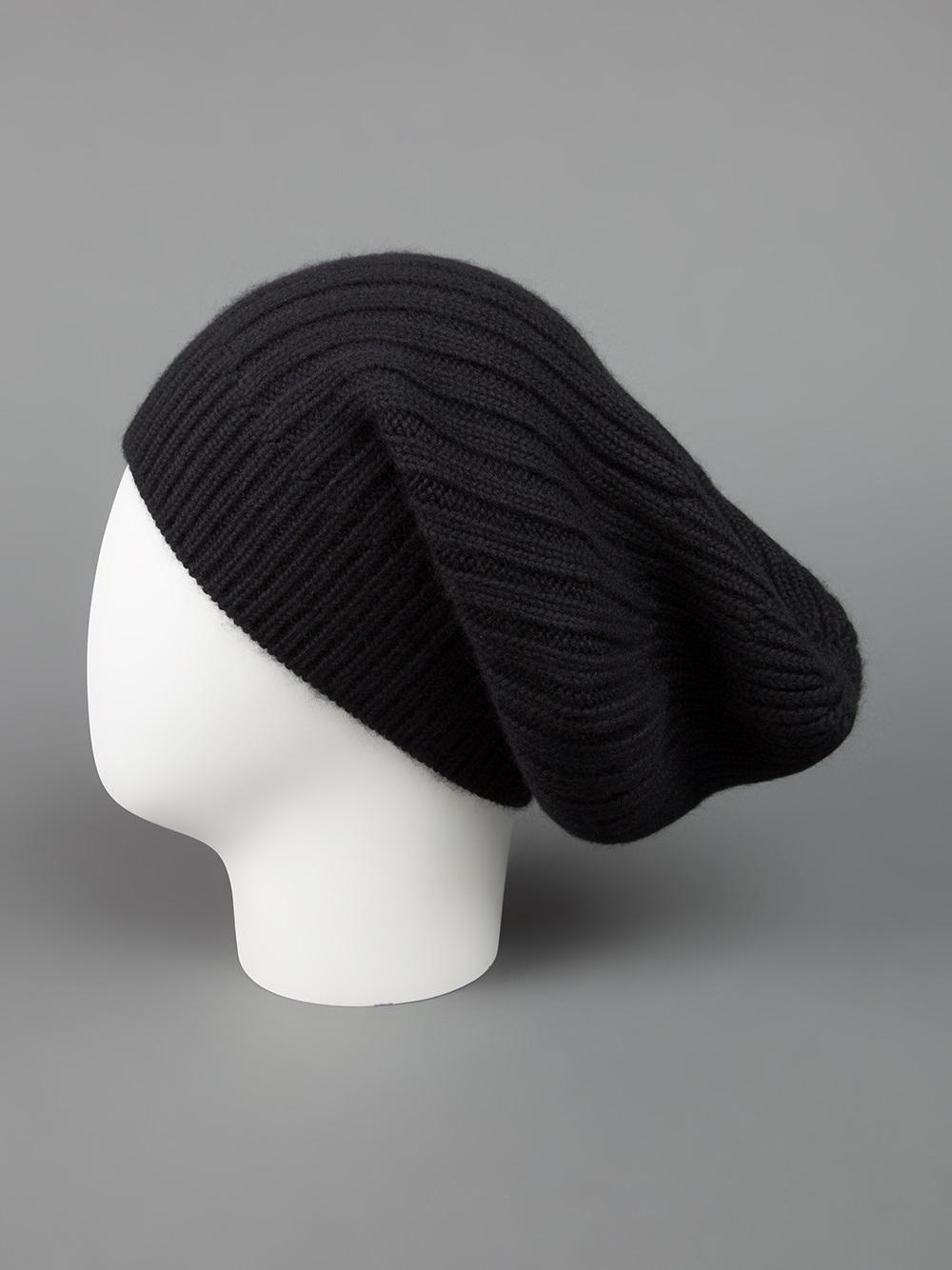 ribbed knit beanie - Grey Rick Owens 3ZRTEt
