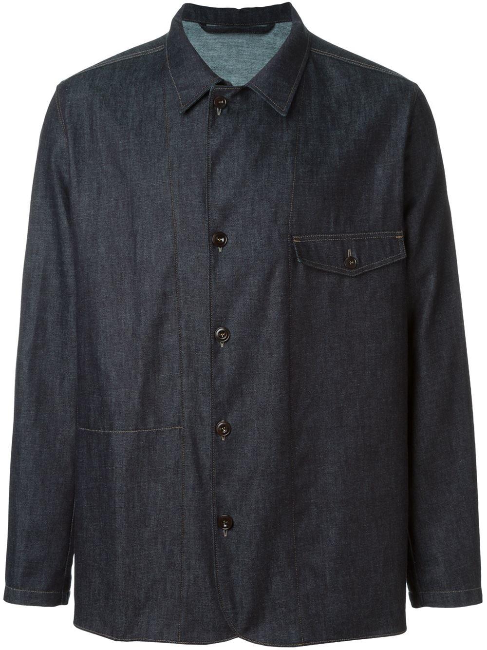 denim shirt pockets - photo #14