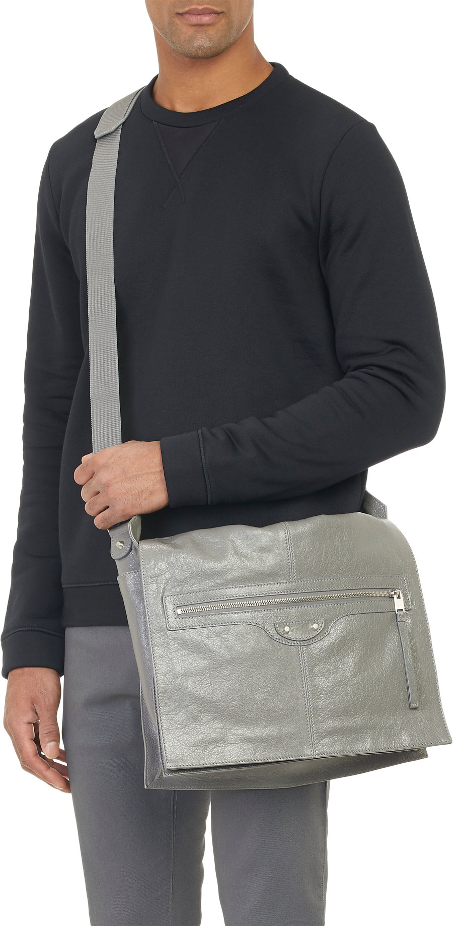 balenciaga messenger bag