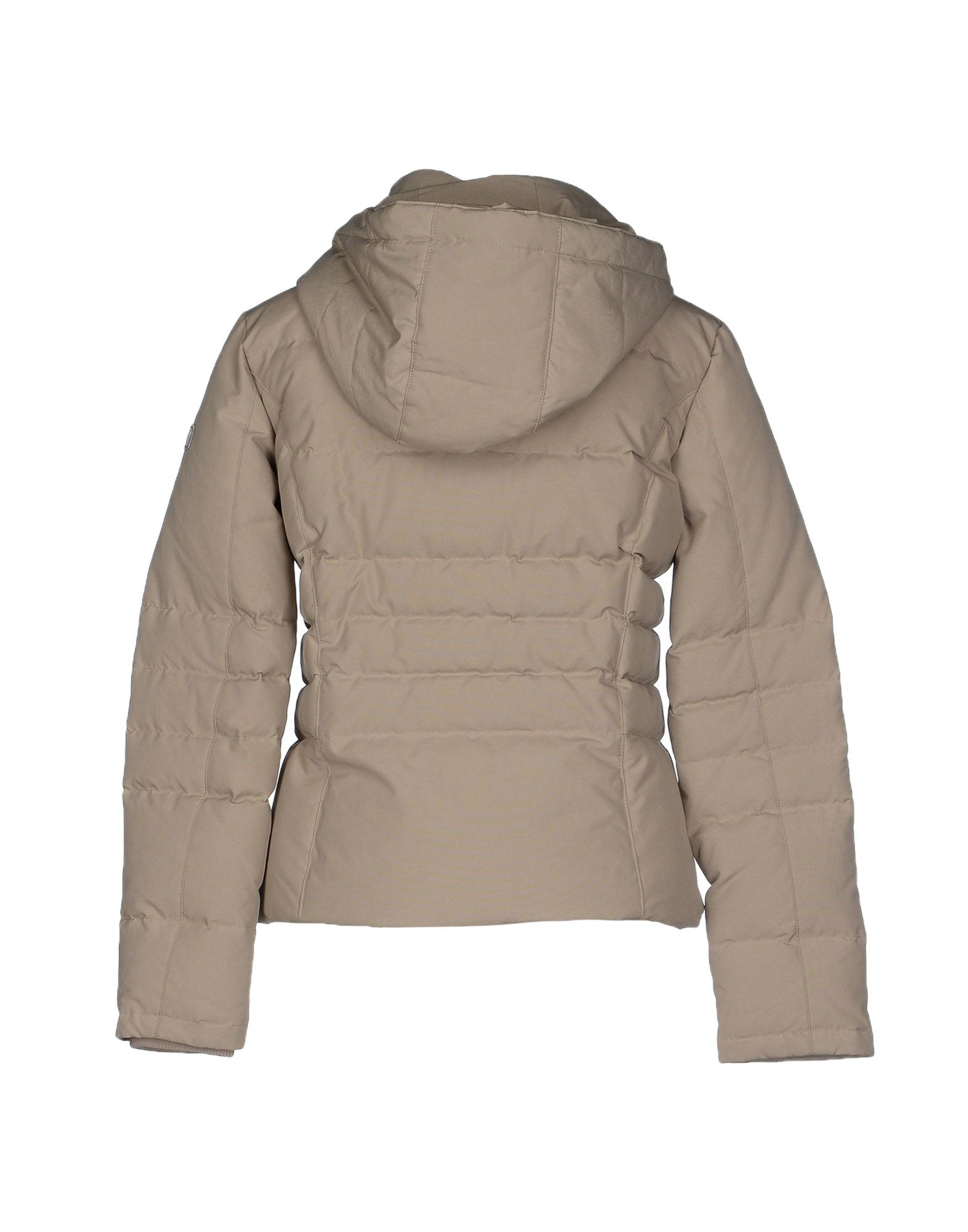 woolrich down jacket in beige lyst. Black Bedroom Furniture Sets. Home Design Ideas