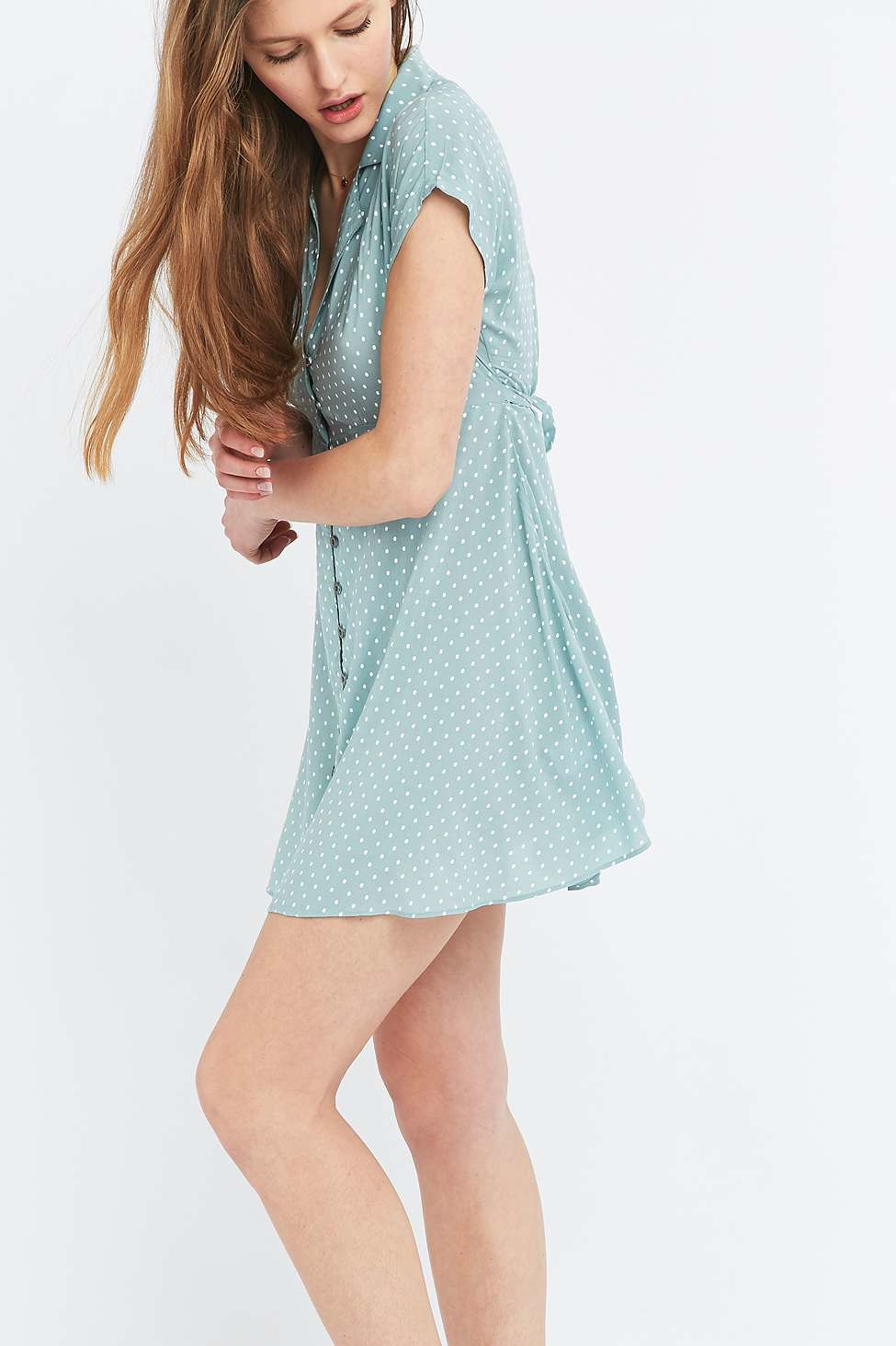 4930eeda9a6 Gallery. Previously sold at  Urban Outfitters · Women s Blue Dresses