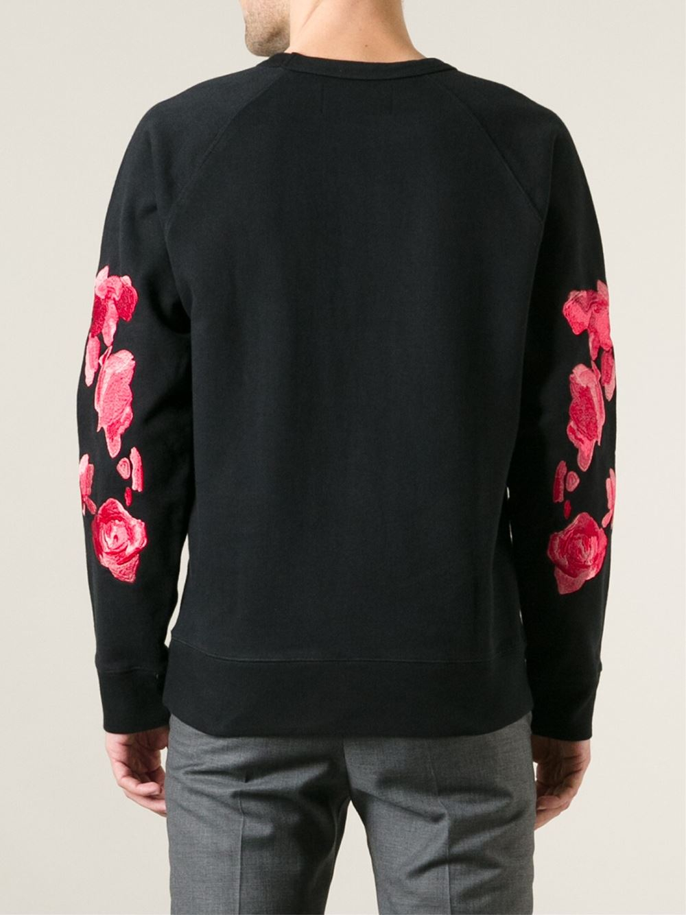 Great Sweater Cute Guy Too: Our Legacy 50s Great Sweater Roses Sweatshirt In