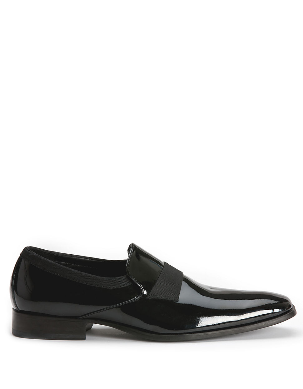 Calvin Klein Guilford Patent Loafers In Black For Men Lyst