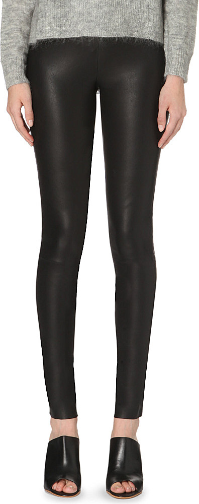 8b12a01bb0807 Designers Remix Etta Leather Trousers - For Women in Black - Lyst
