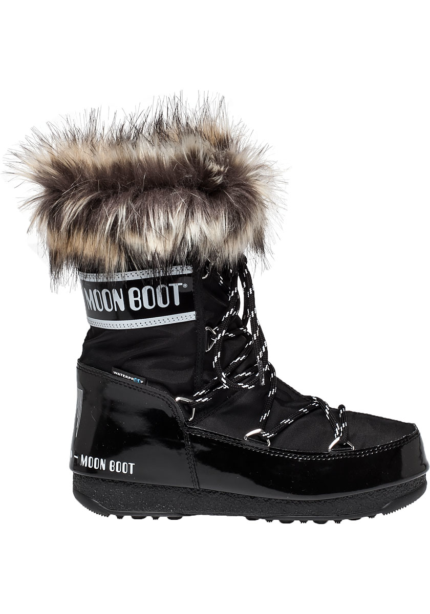 Tecnica Moon Boot We Monaco Low After Ski Boot Black Lyst