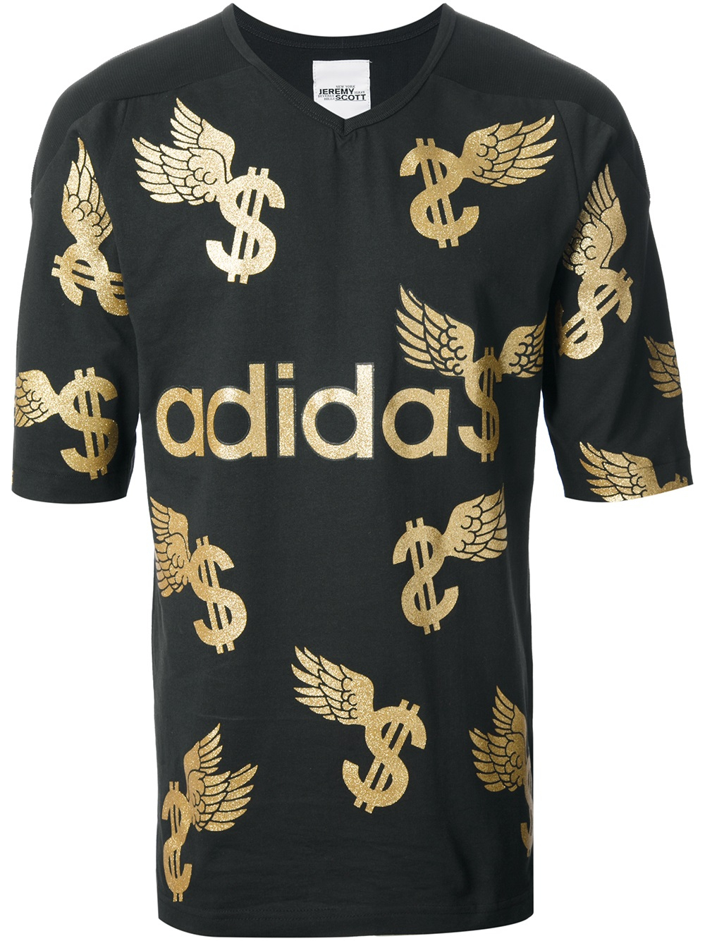 Adidas Winged Dollar Sign T Shirt In Metallic For Men Lyst