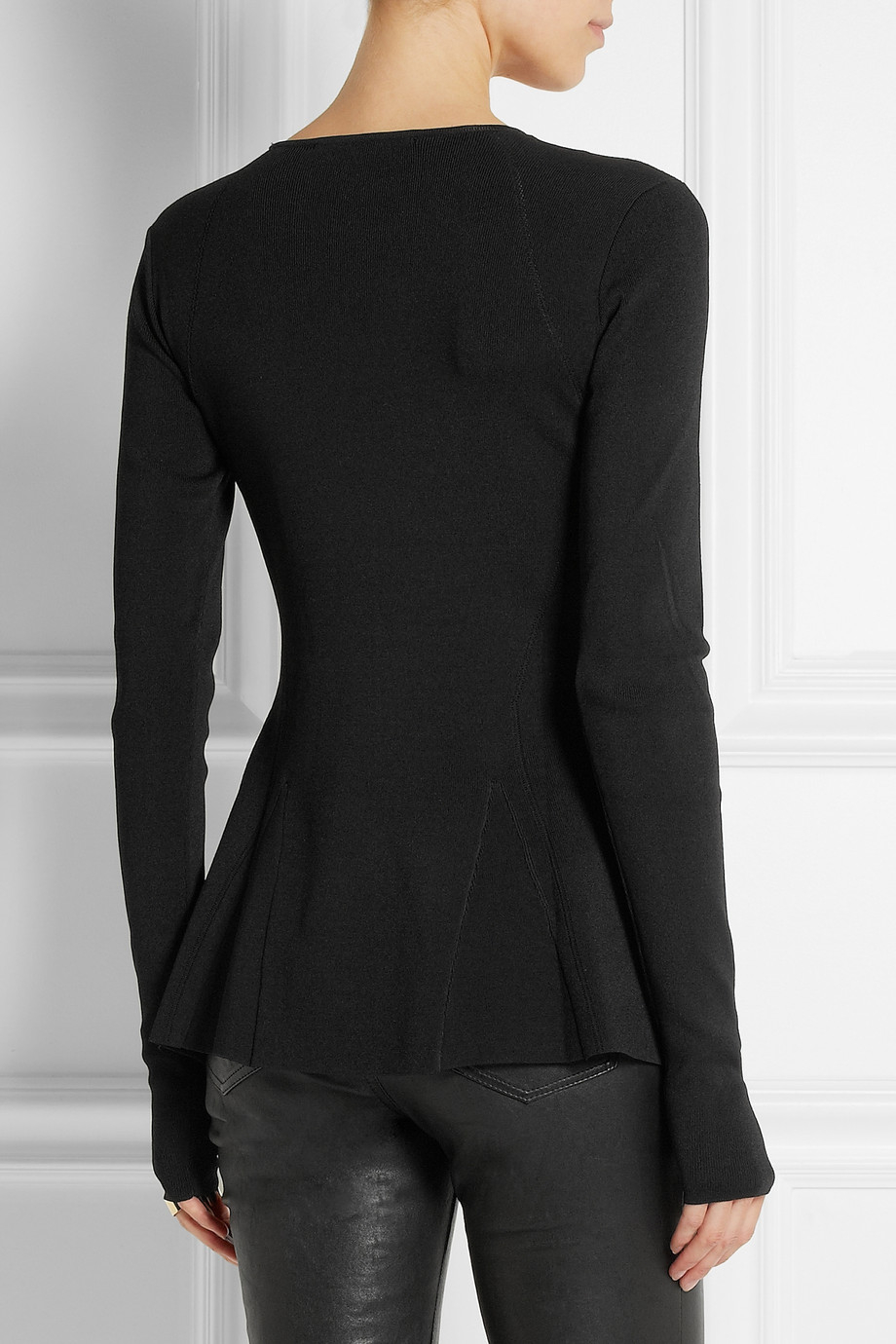 Top Quality New Online Karl Lagerfeld peplum jumper Cheap And Nice Buy Cheap Order Outlet 2018 Unisex URydOWwY